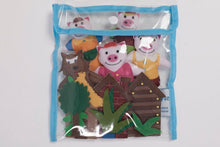 The Three Little Pigs Fairy Tale Felt Set