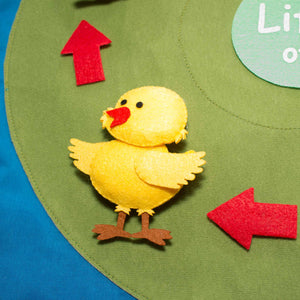 Life Cycle of the Chicken Felt Set