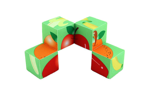 Fruit Puzzle Block