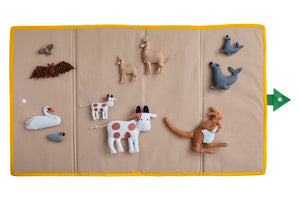 NEW! Is Your Mama A Llama Felt Set