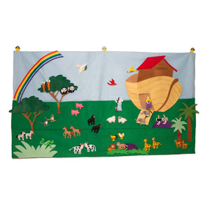 Noah's Ark Felt Play Wall