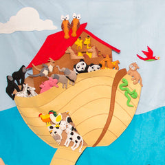 Noah's Ark Play Wall
