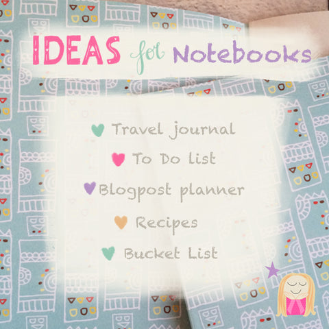 Creative ideas for notebooks