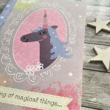 Load image into Gallery viewer, 'Magical Unicorn' A5 Notebook