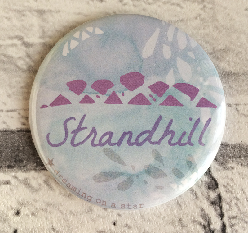 Strandhill illustrated 58mm magnet