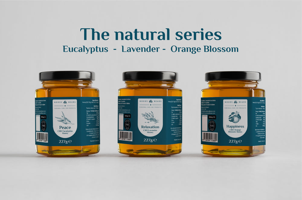 CBD Eucalyptus Honey - 500mg CBD