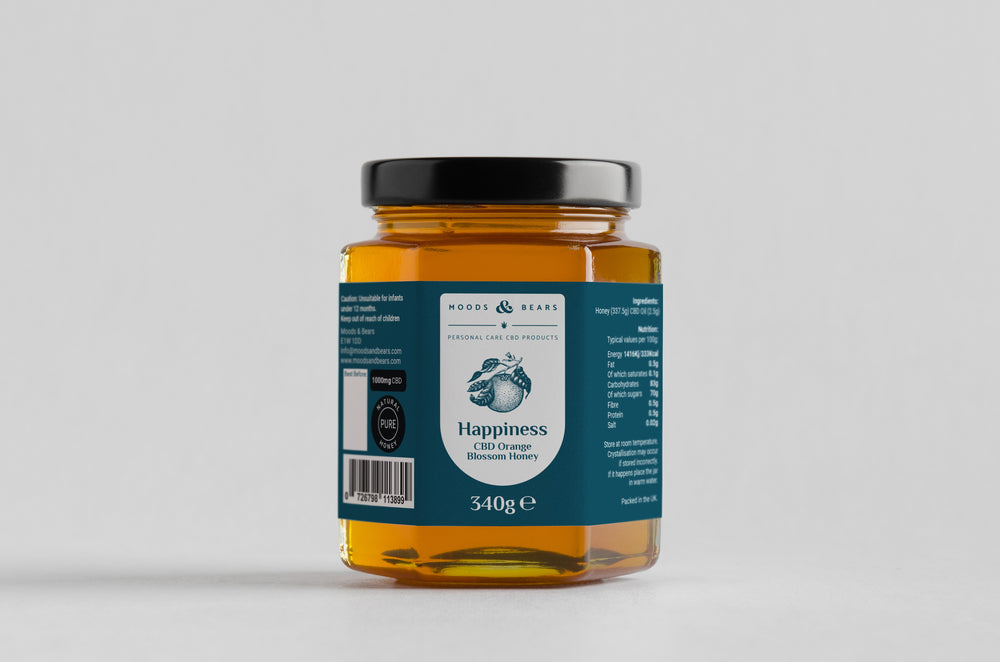 CBD Orange Blossom Honey - 1000mg CBD