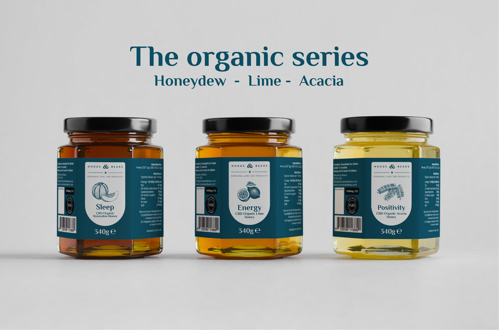 CBD Organic Acacia Honey - 1000mg CBD
