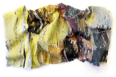 Topography of Memory (Silk Piece series, No. 23)