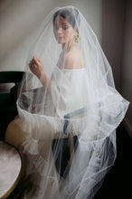 Load image into Gallery viewer, Ruffle Tulle Veil