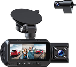 Free 1080P Dual Dash Camera w/IR Night Vision 24H Parking Monitor for Amazon Reviewer