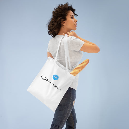 Tote Bag with ASK and Permission Logos
