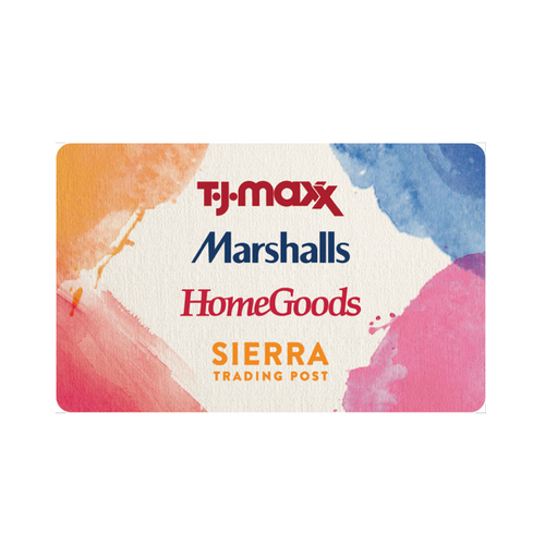 TJX - Gift Card EXCLUSIVELY FOR RESIDENTS OF USA AND PUERTO RICO
