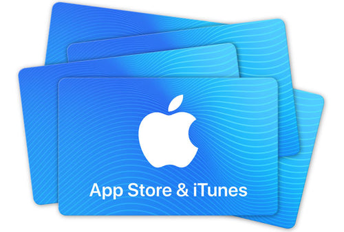 App Store & iTunes - Gift Card EXCLUSIVELY FOR RESIDENTS OF GERMANY