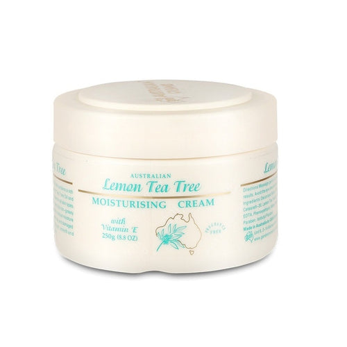 Your Love Lemon Tea Tree Oil Moisturizing Face Cream from Dry Sensitive Skin