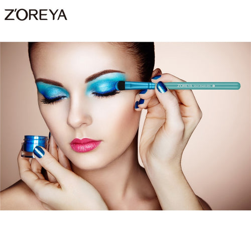 Zoreya 7Pcs Professional Makeup Brushes with Case