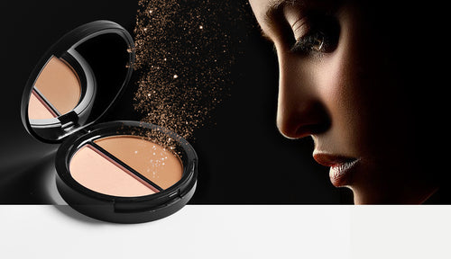 Focallure Face Shimmer Bronzer and Highlighter with Oil Control