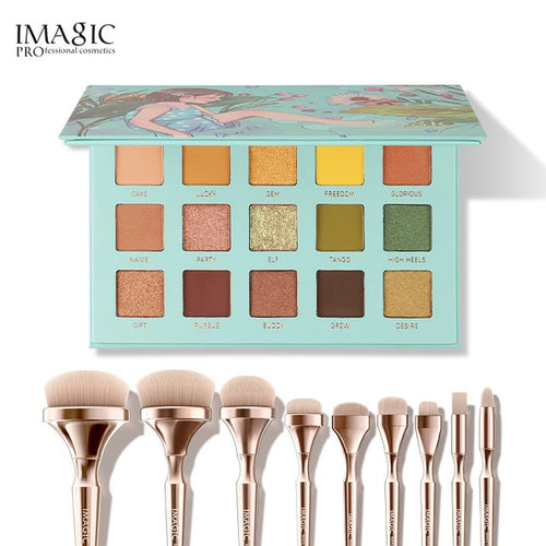 Imagic Eyeshadow Cosmetics Makeup 3 pcs Palette