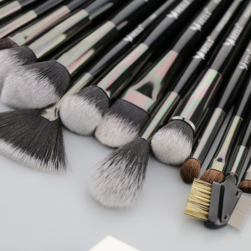 Beili 40 Pieces Cosmetics Makeup Brushes Set