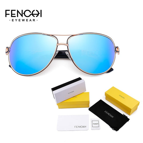 Women's Polarized Mirrored Photochromic Pilot Sunglasses UV400