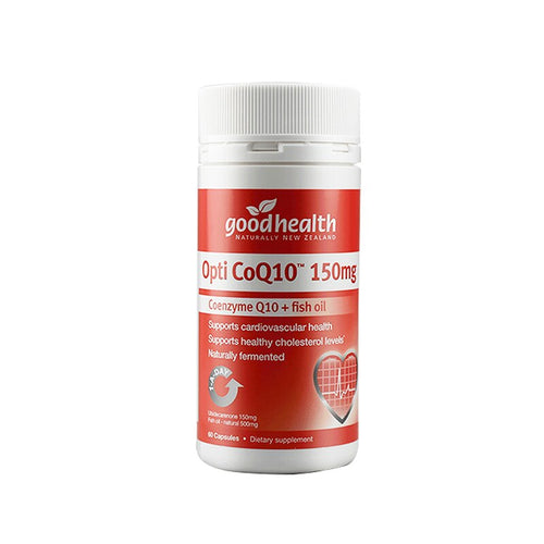 CoEnzyme CoQ10 Omega3 60Cap Supplement for Heart Health Immune Cardiovascular System
