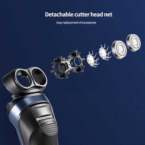 Flyco FS808 Electric Shaver with 2 Floating Heads