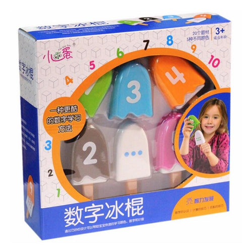 Children's Digital Popsicle Mathematics Interactive Educational Toy Game