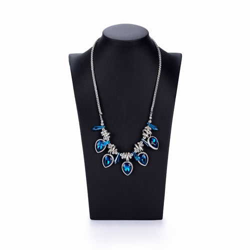 Necklace Bust Display Pendant Jewelry Holder Organizer