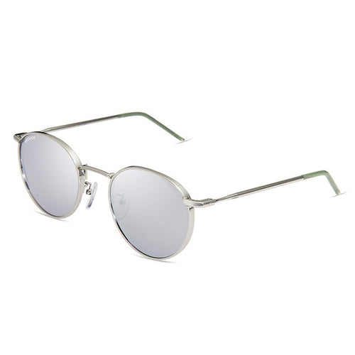 Women's Men's Polarized Round Sunglasses with Metal Frame UV400