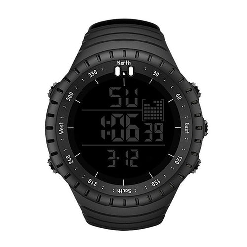 Sport Digital Men's Watch with LED Electronic Clock