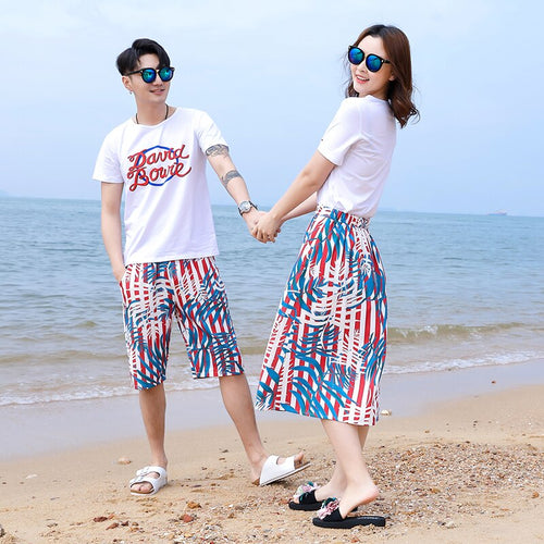 Vigarelyan Family Matching Clothes Mother Daughter Top and Skirt Set Father Son Shorts and T-Shirt