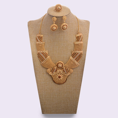 Dubai 24K Gold Jewelry Sets for Women