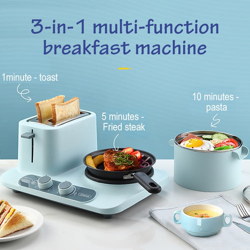 Gevi 3 in 1 Electric Toaster and Hot Plate