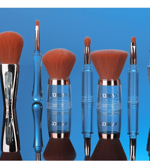 Zoreya 4 In 1 Contour Foundation Makeup Brushes Set