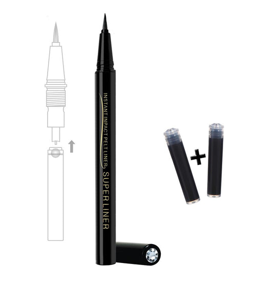 Waterproof Liquid Gel Eyeliner Plus 2 Ink Refill