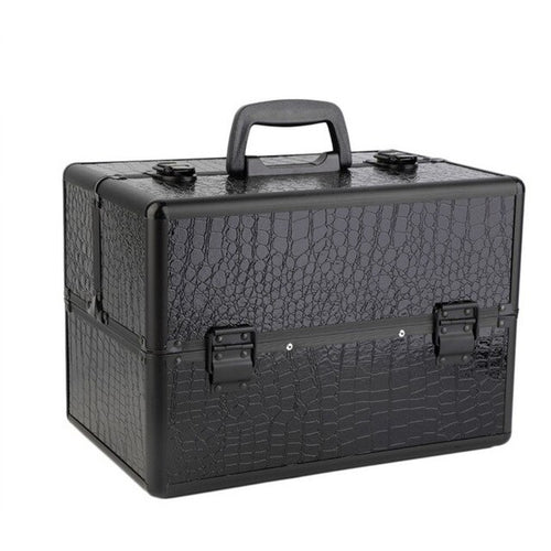 Professional Hand Held Portable Makeup Manicure Storage Box Organizer Toolbox