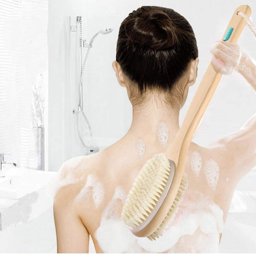 Treesmile Bath Exfoliating Brush for Back and Body