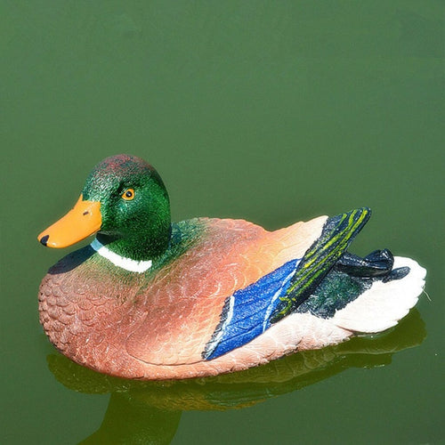 Resin Garden Lawn Decorative Floating Duck
