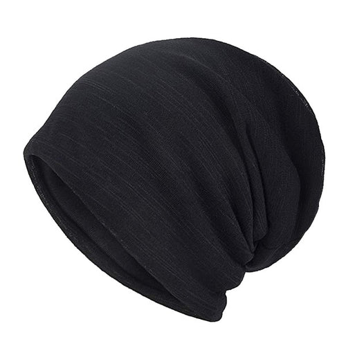Women's Men's Cotton Skullie Beanie Hat