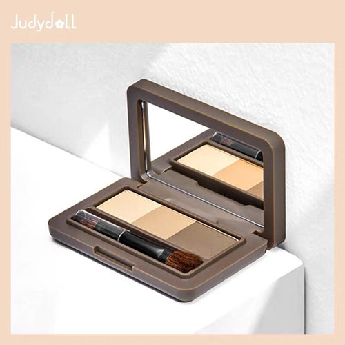 Makeup Palette 3D Eyebrow Shadow Powder with Brush