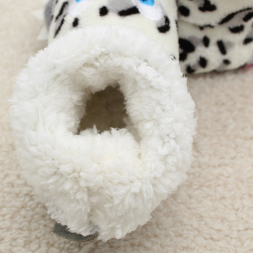 Boys' Girls' Plush Ankle Animal Slippers