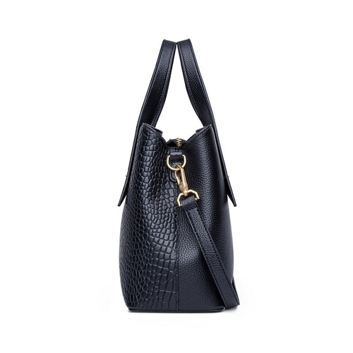 Women's Genuine Leather Shoulder Tote Bag