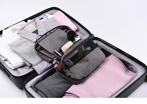 Hanging Travel Cosmetic and Toiletry Organizer Bag