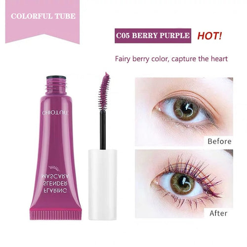 Mascara Waterproof Fast Dry Curling Lengthen Eyelashes for Eye Makeup
