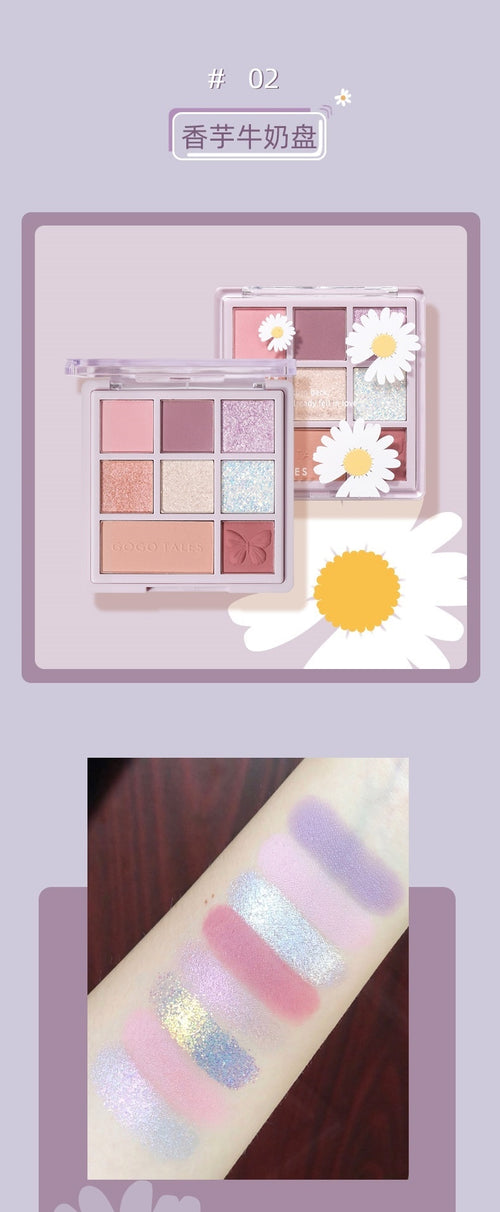 Judydoll 8 Color Eyeshadow Pallete for Make up