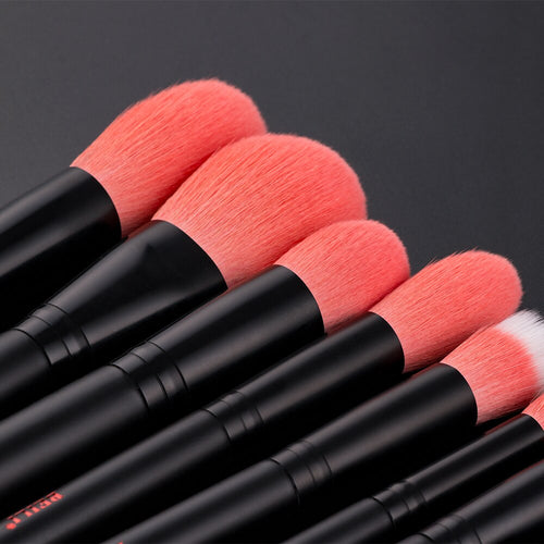 Beili Cosmetics Makeup Brushes with Nano Wool Fiber for Foundation Eyebrow Blush Eye Shadow