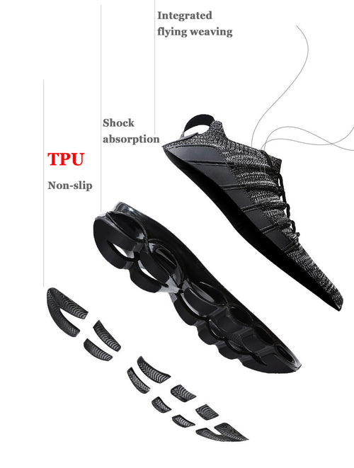 Men's Fishbone Blade Sneakers Shoes Available in Big Sizes