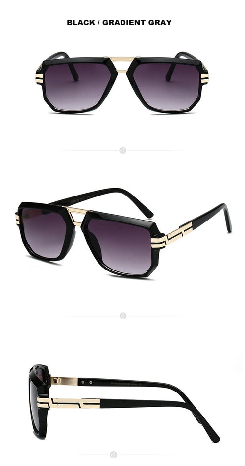 Men's Anti Reflective Retro Sunglasses UV400