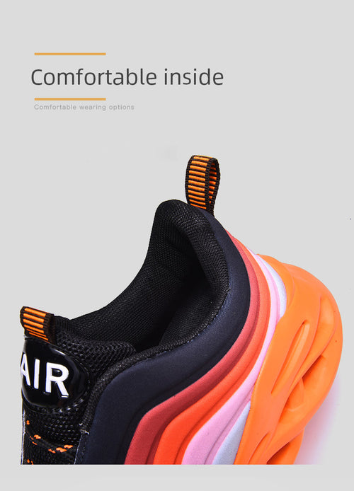 Men's Breathable Lightweight Blade Sneakers Shoes Available in Big Sizes