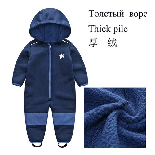 Children Baby Boy's Girl's Windproof and Rainproof Jumpsuit